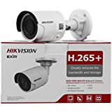 HIKVISION DS-2CD2085FWD-I 2.8mm 8MP IP Camera PoE IP67 30m IR Built-in SD Slot H.265 3D DNR Motion Detection
