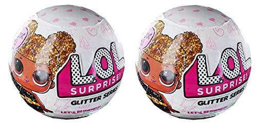 LOL Surprise! Glitter Series Doll Lot of 2