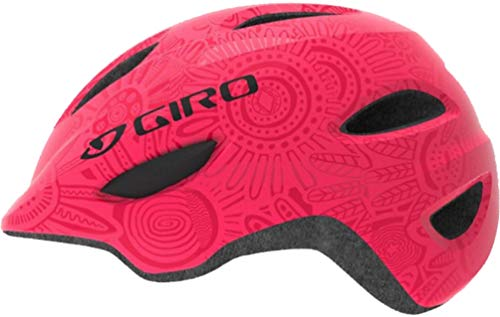 - Giro Scamp MIPS Cycling Helmet - Kid's Bright Pink/Pearl Small