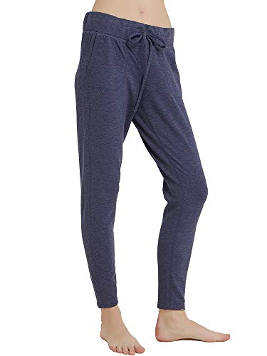 RIBOOM Women's Sweatpants Active Yoga French Terry Joggers Pants with Pockets -
