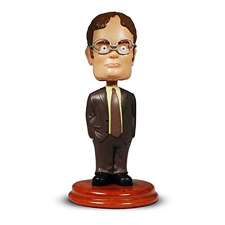 NBC Universal officebobbledwight Dwight Schrute Bobblehead Innotrac The Office