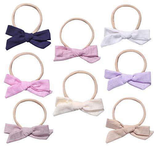Baby Nylon Headbands Hairbands Hair Bow Elastics for Baby Girls Newborn Infant Toddlers Kids (ST08)