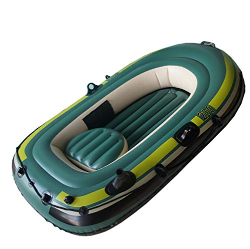 POTA 2-Person Inflatable Boat Set with Oars
