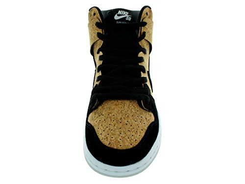 Dunk Alto Premium Sb blanco / negro del patín del zapato 6 con nosotros Black/Black/Hazelnut/White