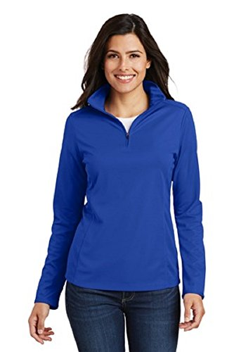 Royal Blue Long Sleeve Pullover - 1