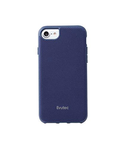 Evutec AERGO Series Case Compatible with iPhone 8, Ballistic Nylon (Blue)