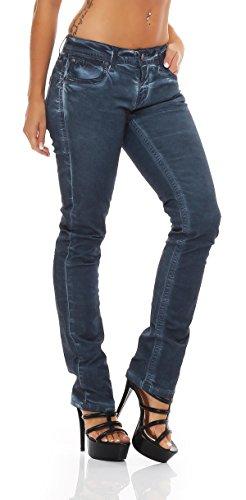 Blue Monkey Damen Jeans Hosen Jeanshosen Laura BM-10-B