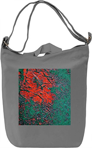 Painted Wall Print Borsa Giornaliera Canvas Canvas Day Bag  100% Premium Cotton Canvas  DTG Printing 
