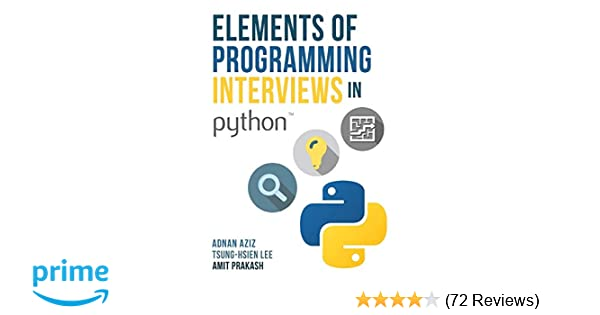 Programming interviews ebook elements of