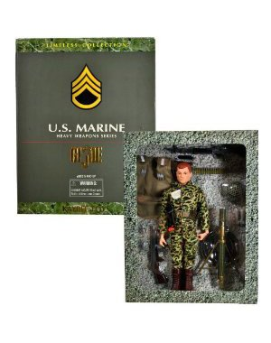 Helmet Gi Joe Weapon - GI Joe US Marine Heavy Weapons Series - Timeless Collection - Kaybee Toy Exclusive