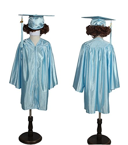 Happy Secret Preschool and Kindergarten Graduation Cap and Gown, Tassel and 2019 Charm