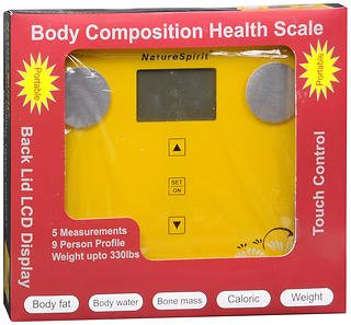 NatureSpiritn Body Composition Health Scale - 1 ea., Pack of 2 by NatureSpirit