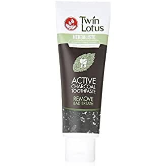 Twin Lotus Activated Charcoal Toothpaste