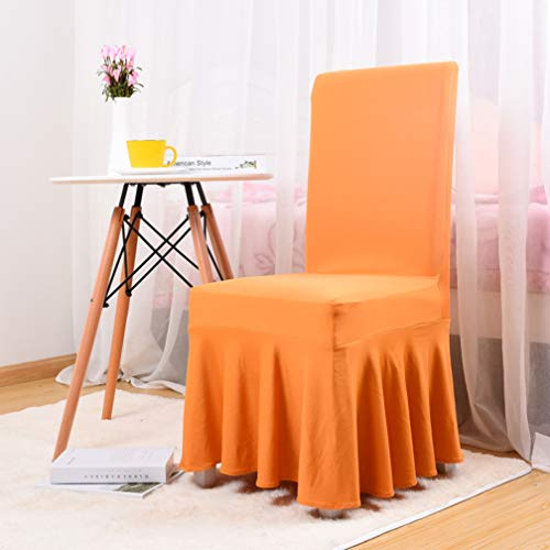 Fashion Designs Chair Cover Europe Big Skirt Side Elasticity All Inclusive Wedding Restaurant Meeting Lace