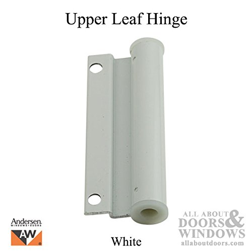 Leaf Hinge (Andersen Hinge Leaf, Screen Door, Upper - White)