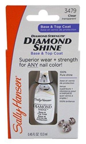 Sally Hansen 3479 Diamond Shine Base and Top Coat Nail Polish, 2 Pack