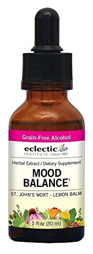 (Mood Balance (formerly St. John's Wort - Lemon Balm) Extract Eclectic Institute 1 oz Liquid by Eclectic ()
