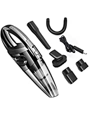 Wireless Handheld Vacuum Cleaner USB Charging Cyclonic Suction Rechargeable Portable for Car Home Office Pet Hair