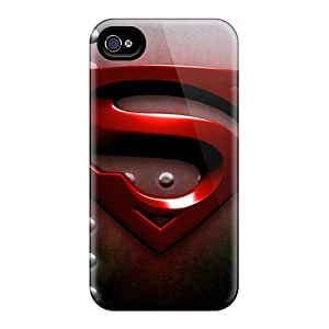 Great Cell-phone Hard Cover For Iphone 6plus With Unique Design High-definition Superman Pictures JohnPrimeauMaurice
