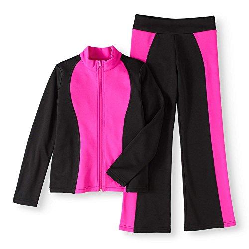 RainBeau Girls' Tech Fleece Track SuitSize Large by RainBeau