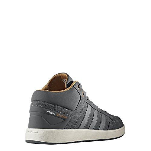 adidas Herren CF All Court Mid Fitnessschuhe, Grau (Gricua/Gricua/Mesa), 40 EU