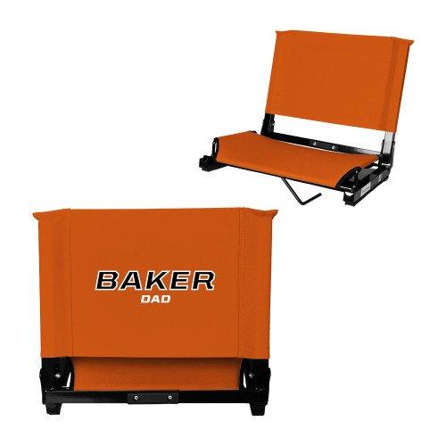 Baker Stadium Chair Orange 'Dad' by CollegeFanGear