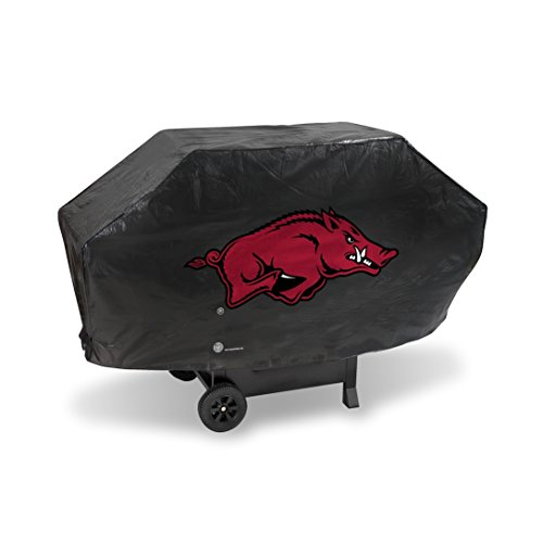 NCAA Arkansas Razorbacks Deluxe Grill Cover, Black, 68 x 21 x 35