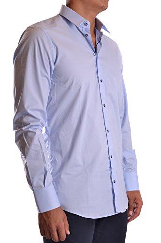 Dolce E Gabbana Herren MCBI099148O Hellblau Baumwolle Hemd