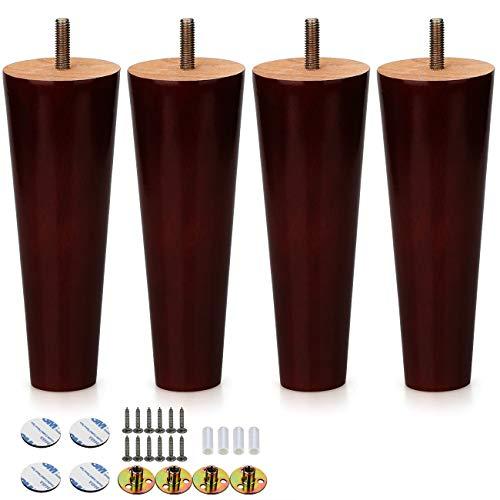 Amazon.com: Alasdo - Juego de 4 patas redondas de goma para ...