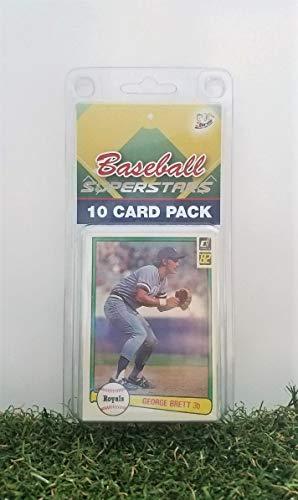 George Brett- (10) Card Pack MLB Baseball Superstar George Brett Starter Kit all Different cards. Comes in Custom Souvenir Case! Perfect for the Brett Super Fan! by -
