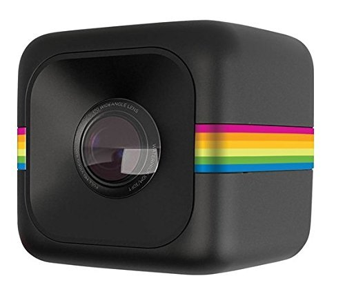 Polaroid Cube+ Live Streaming 1440p Mini Lifestyle Action Camera With Wi-fi & Image Stabilization (b Icon