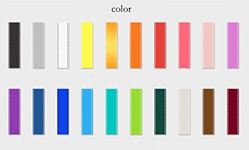 6 pezzi in colori assortiti con fibbia staccabile per documento d/'identit/à e badge Laccio da collo con gancio