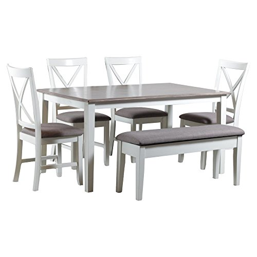 Powell Furniture 15D8153PC6 Jane 6 Piece Dining Set