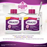 Miralax powder laxative, 68 doses. 2x20.4 OZ