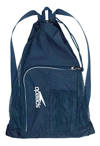 Swim Gear - Speedo Deluxe Ventilator Mesh Equipment Bag, Insignia Blue, 1SZ