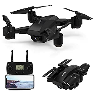 JJRC 5G WiFi FPV Foldable Drone with 1080P HD Camera Live Video,GPS Drone 30Mins(15+15) Long Flight Time RC Quadcopter…