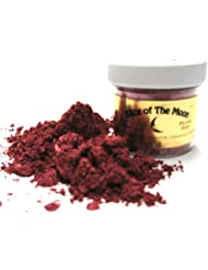 Pearl Red Mica Powder 1oz, Metallic Ruby Red, Cosmetic Mica, Slice of the Moon