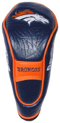 Team Golf NFL Denver Broncos Hybrid Golf Club Headcover, Velcro Closure, Velour lined for Extra Club Protection