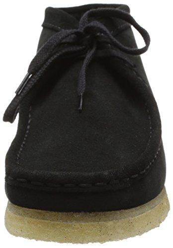 Clarks Originals Wallabee Boot - Bottes Classiques - Bottes Classiques - homme - Noir (Black Sde) - 44.5 (UK: 10)