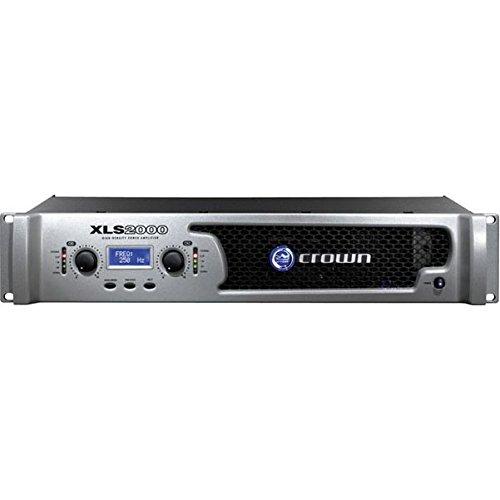 Crown Xls Amp (XLS 2000W AMP W/ XOVER & LIMTR 120V)