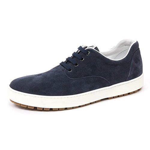 chiaro man scarpa allacciata B4926 HOGAN sneaker uomo Blu blu shoe H242 n0fzwZBzq