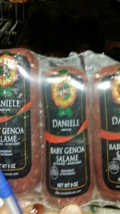 Daniele Baby Genoa Salami 9 Oz (3 Pack)