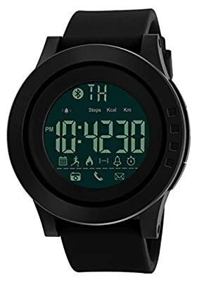 Mastop Smart Watch Pedometer Calories Bluetooth Clocks Waterproof Digital Outdoor Chronograph Sports Watches