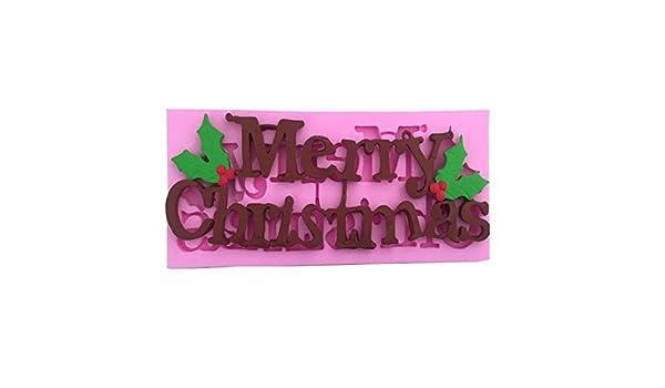 Árbol de Navidad de Silicona Pastel de Copo de Nieve Fondant ...
