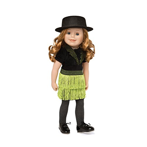 Maplelea's Happy Tap Dance Costume for 18 Inch Dolls by Maplelea - 18 Doll Dance Costumes