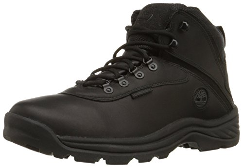 Timberland Mens White Ledge Mid Waterproof Ankle Boot,Black,10 W US Black