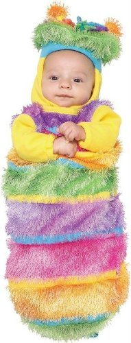Wiggle Worm Infant Costumes (Wiggle Worm Infant 3-6 Sz by Morris Costumes)