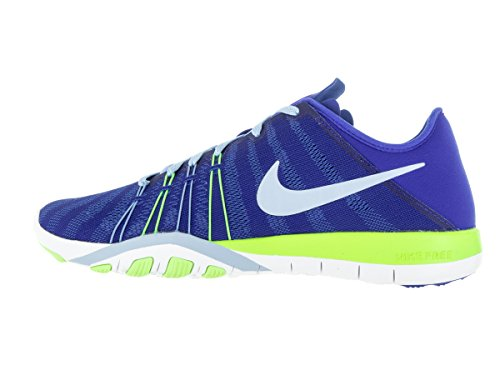 Womens White 6 Green Training Bluecap Blue Glost TR Nike Shoes Free Racer OqSTOrwn