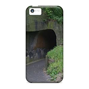 Favorcase Scratch-free Phone Cases For Iphone 5c- Retail Packaging - Lonely Tunnel
