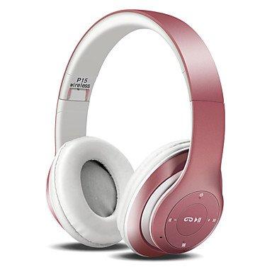 2017 nueva P15 auriculares inalámbricos Bluetooth auriculares deporte auriculares EarPods de portátil con FM TF para iPhone 7 mi 5 Pk, P47 auriculares: ...